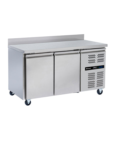 Blizzard Refrigerated Two Door 1/1 Gastronom Counter HBC2 313 litres
