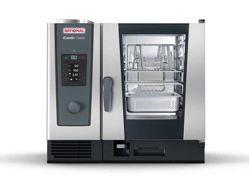 Rational 6 Rack iCombi Classic Electric 6-1/1