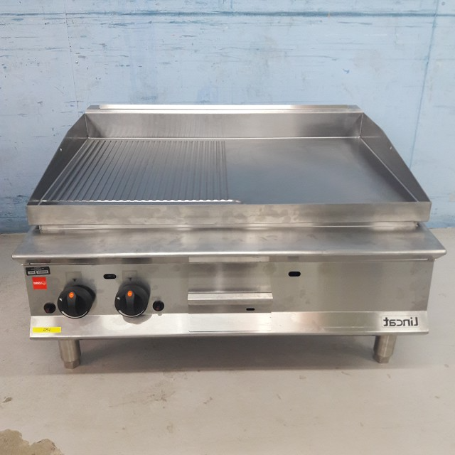 Lincat Half Ribbed LPG Gas Griddle OG8202/R/N