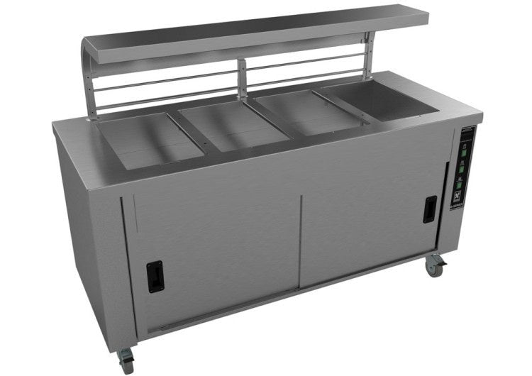 Falcon Heated Servery Counter with Gantry : HS4