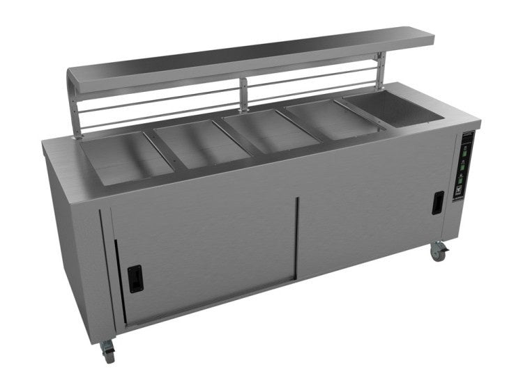 Falcon Heated Servery Counter with Gantry HS5