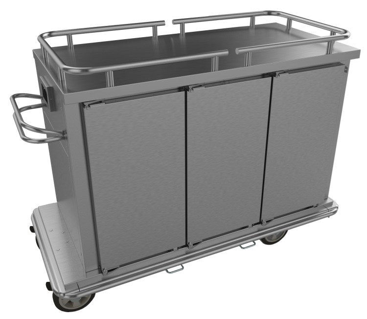 Falcon Heated Food Trolley 3 Door - HT3