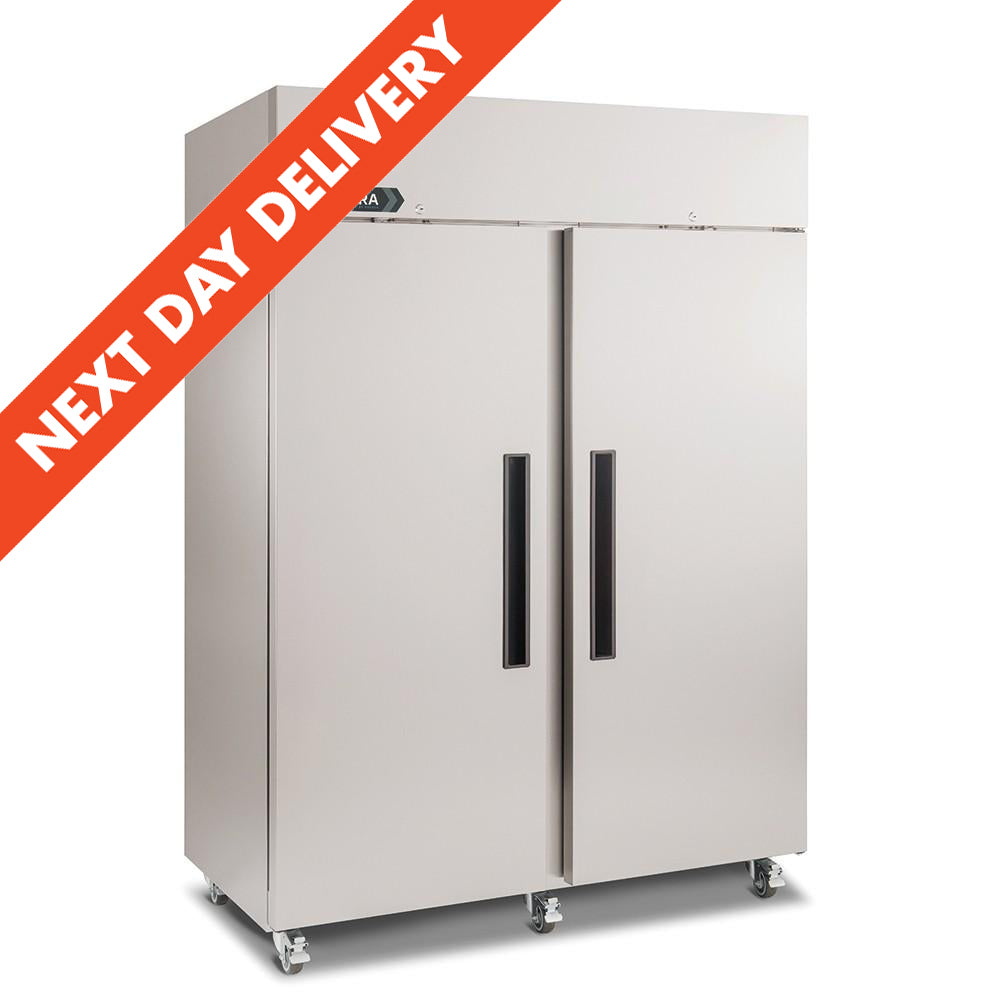 Next Day Delivery Foster Xtra Double Door Upright Refrigerator 881 litres : XR1300H 33-186