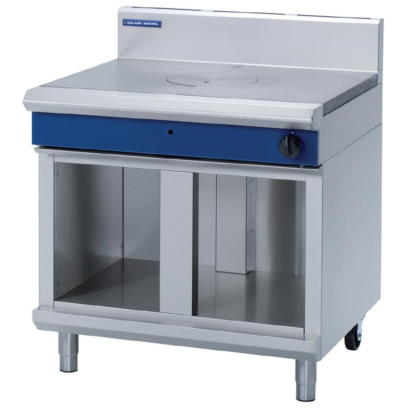 Blue Seal 900mm Target Top with Cabinet Base : G57-CB