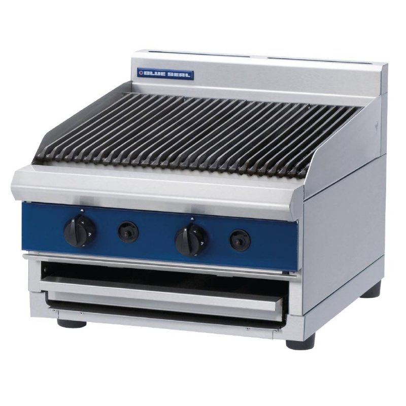Blue Seal 600mm Countertop Gas Chargrill  : G594-B