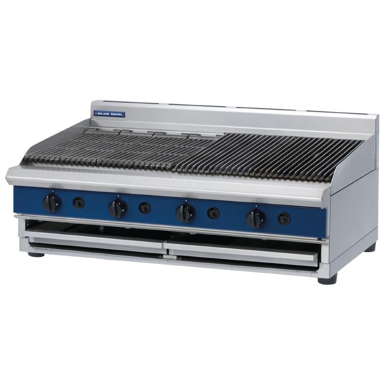 Blue Seal 1200mm Countertop Gas Chargrill : G598-B
