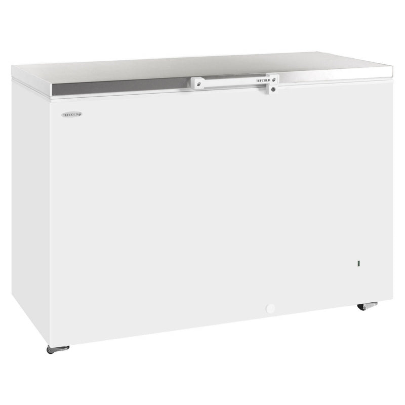 Interlevin Solid Lid Chest Freezer Stainless Steel Range : GM200SS