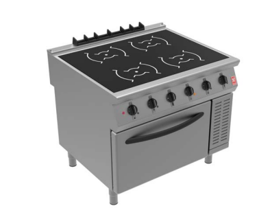 Falcon i91104 Four Zone Induction Electric Oven Range