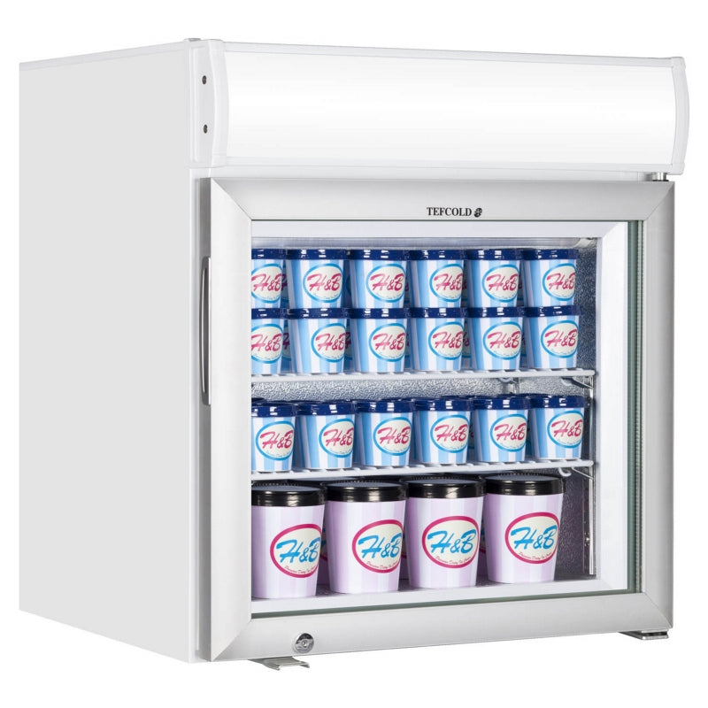 Interlevin Glass Door Display Freezer : UF100GCP-P