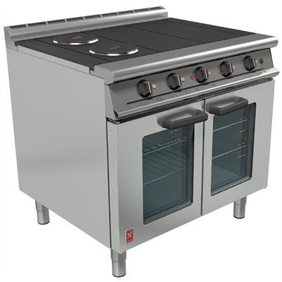Falcon OTC Four Hotplate Fan-Assisted Oven Range : E3101
