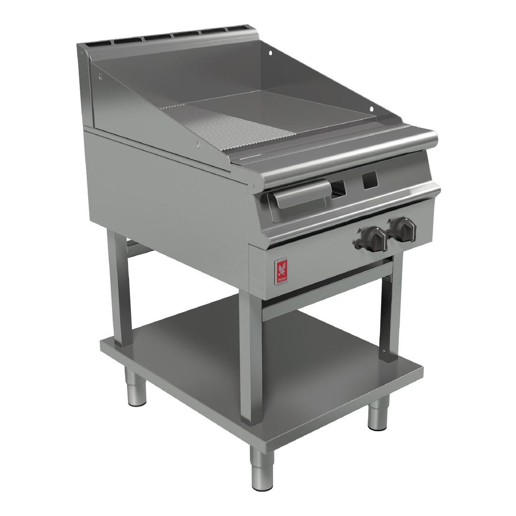 Falcon Ribbed Griddle on Fixed Stand : G3941