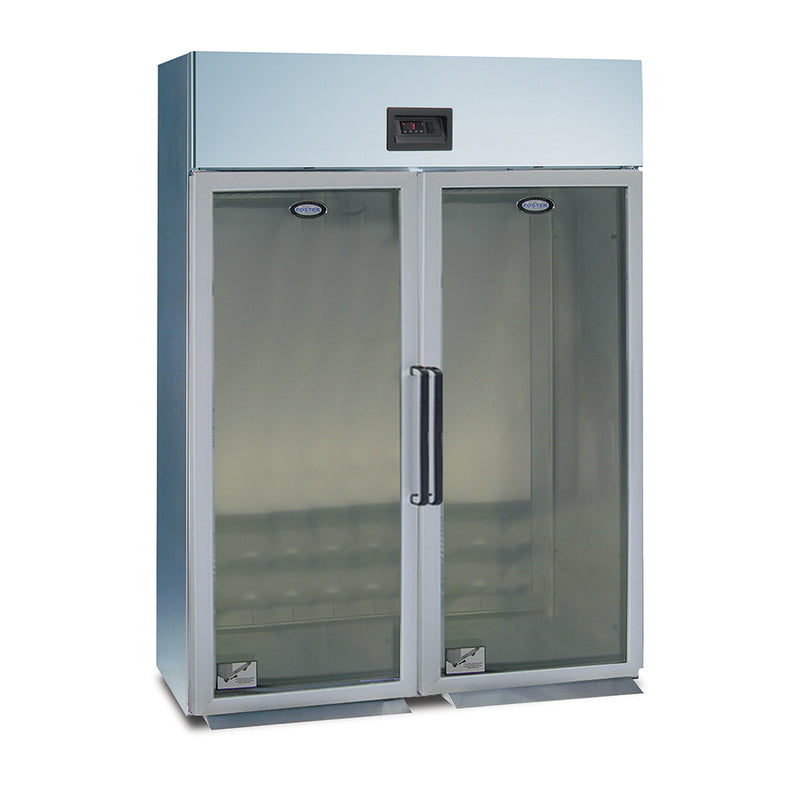 Foster Gastronorm Roll In Refrigeration Cabinet Double Glass Fronted GRL2H