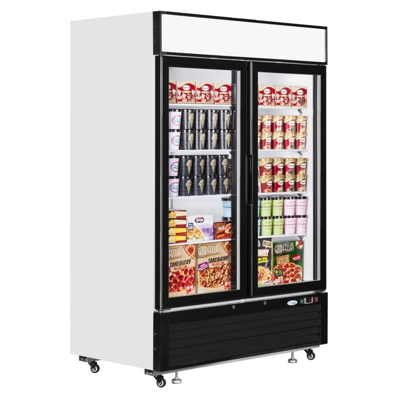 Interlevin Glass Door Display Freezer : LGF5000