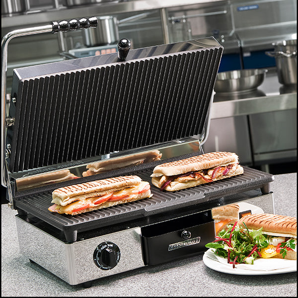 Maestrowave Panini/Contact Grill : MEMT16000XNS