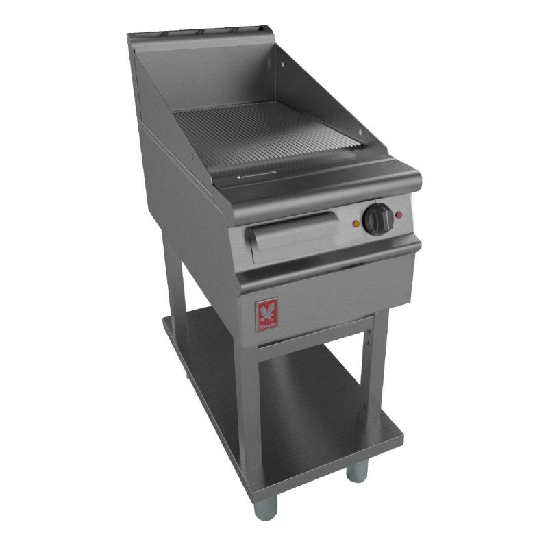 Falcon Ribbed Electric Griddle on Fixed Stand : E3441R