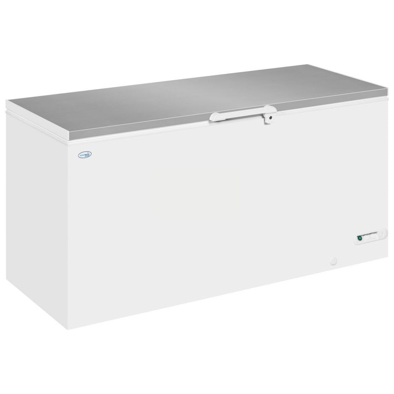 Interlevin Solid Lid Freezer Stainless Steel Range : LHF620SS