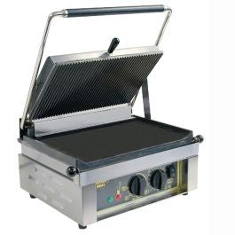 Roller Grill Single Contsct Grill Flat Base & Flat Top : PANINI FT