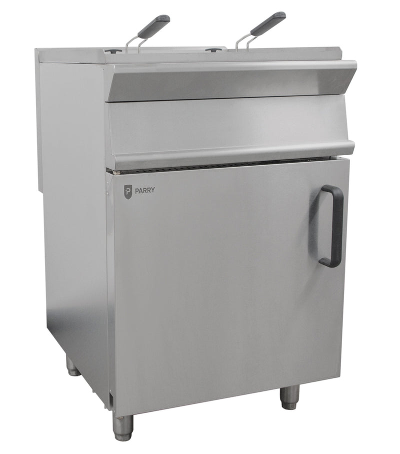 Parry Natural Gas Double Pedestal Fryer