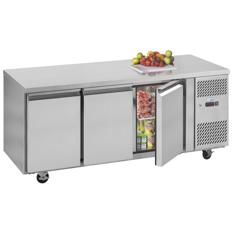 Interlevin Gastronorm Four Door Refrigerator Counter : PH30
