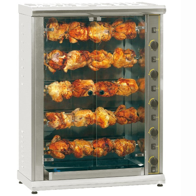 Roller Grill High Capacity Electric Chicken Rotisserie : RBE 200Q