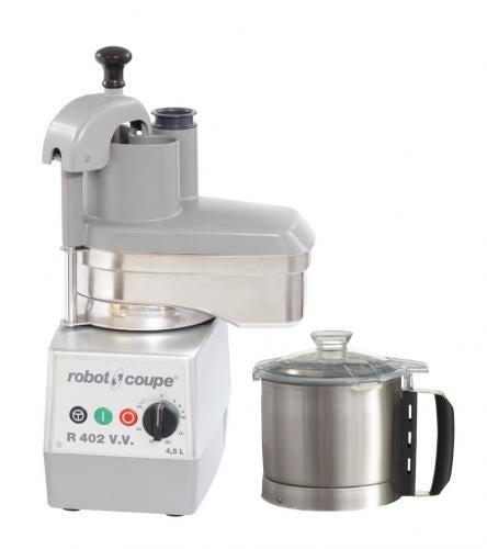 Robot Coupe Combined Bowl Cutter & Vegetable Preparation 4.5 Ltr : R 402 V.V