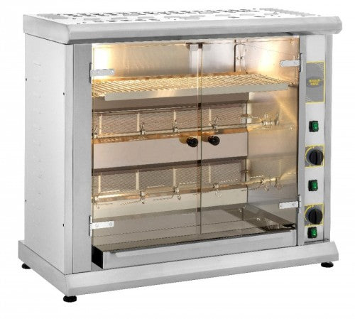Roller Grill Gas Rotisserie with Display Shelf : RBG 80