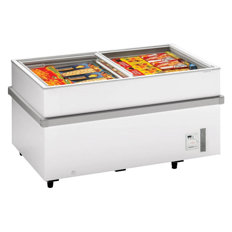 Interlevin Island Site Freezer : 750CHV WH