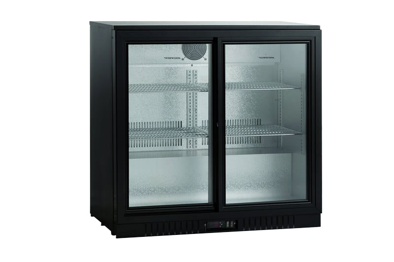 U-Select 165 Litre Two Door Bottle Cooler SC 209 SL