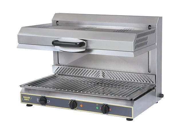 Roller Grill Electric Sliding Salamnder Grill with Plate Detection System : SEM800 PDS