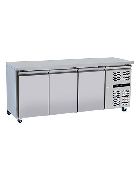 Slim-line Stainless Steel Counters : LBC3SL