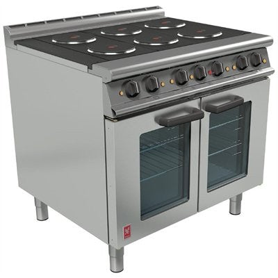Falcon OTC Six Hotplate Fan-Assisted Oven Range : E3101