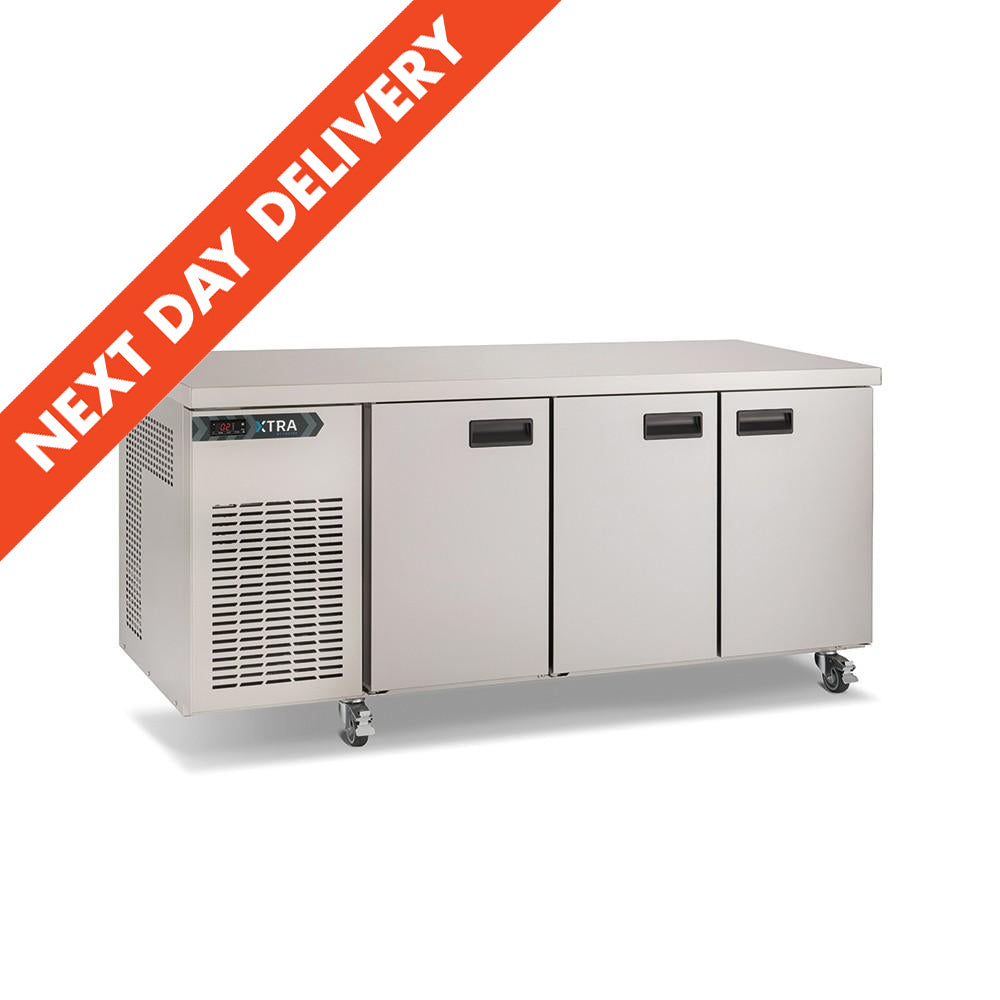 Next Day Delivery Foster Xtra Three Door Refrigerated Counter : XR3H 33-189