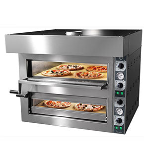 Double Deck Cook Professional Pizza Oven (Manufactured by Cuppone) CEP-TZ425/2M