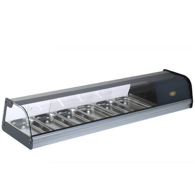 Roller Grill Horizontal Refrigerated Tapas Display : TPR 60