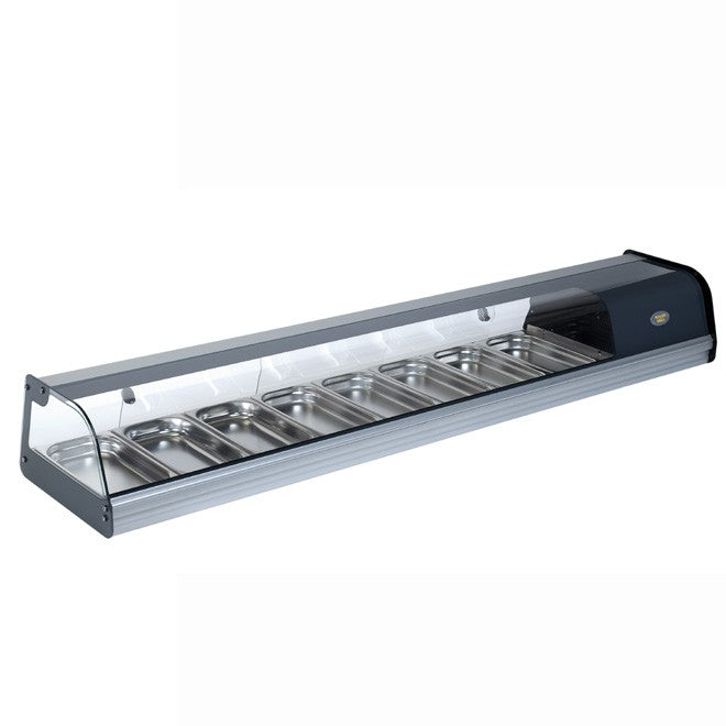 Roller Grill Horizontal Refrigerated Tapas Display : TPR 80