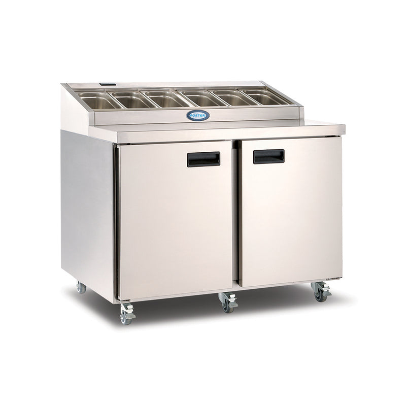 Foster Two Door Refrigerated Prep Counter FPS2HR