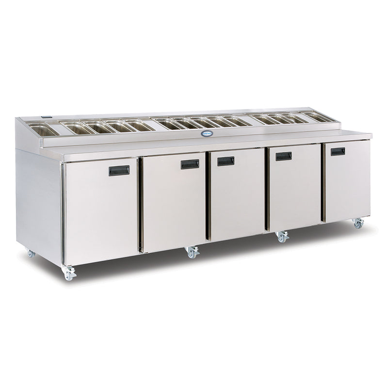 Foster Refrigerated Four Door Prep Counter - FPS5HR