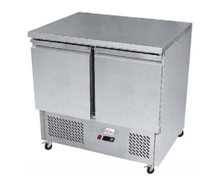 Valera 1/1 GN Two Door Prep Counter 240 litres : VSALSS2