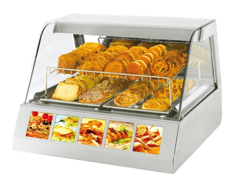 Roller Grill Heated Display : VVC 800