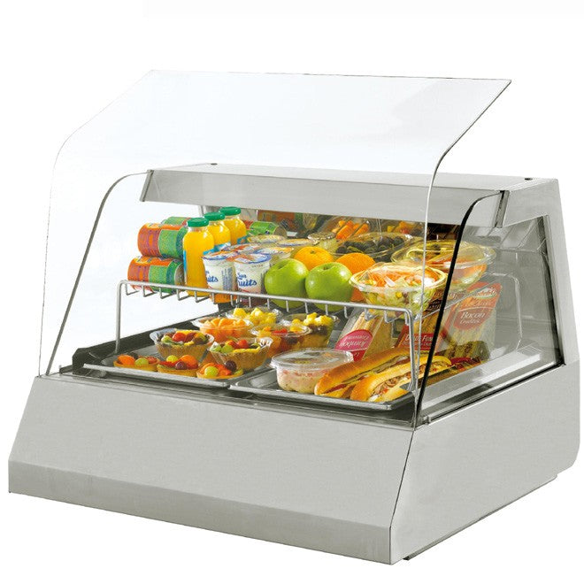 Roller Grill Horizontal Refrigerated Display : VVF 800