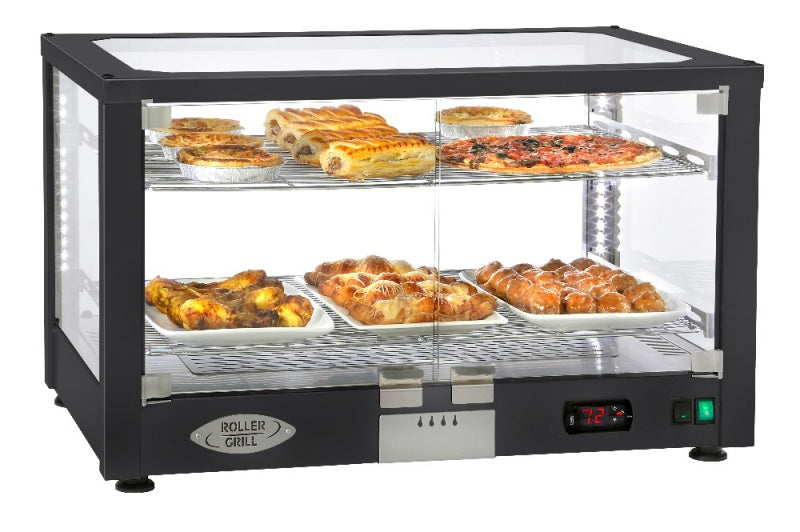 Roller Grill Panoramic Heated Display Cabinet WD780 SN