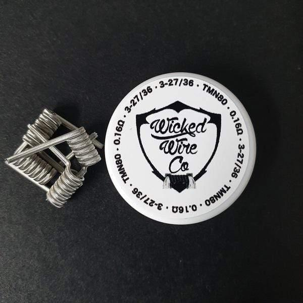 Wicked Wire Co. Alien Coils 3mm (0.16Ω) - Downtown Vapoury