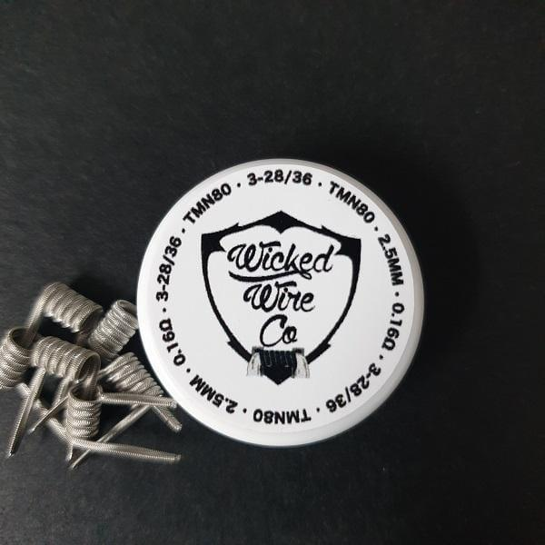 Wicked Wire Co. Alien Coils 2.5 mm (0.17Ω) - Downtown Vapoury