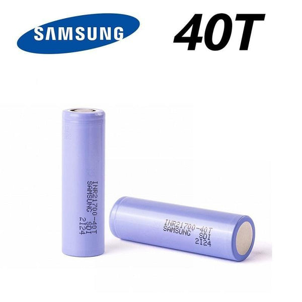 Samsung 40T 21700 4000mAh 30A Battery - Downtown Vapoury