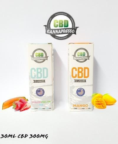 Cannapresso CBD 300MG Vape Juice 30ML