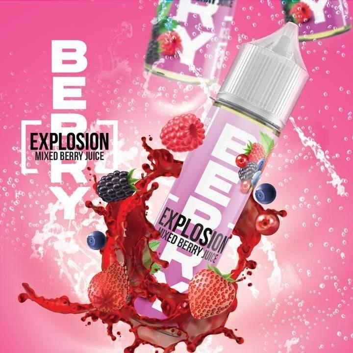 Berry Explosion - Mix Berry Juice 120ml - Downtown Vapoury