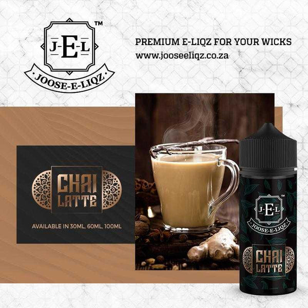 Joose-E-Liqz Chai Tea Latte 100ml - Downtown Vapoury