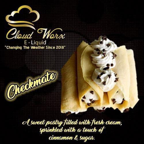 Cloud Worx E-Liquid - Checkmate 60ml - Downtown Vapoury
