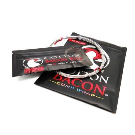 Cotton Bacon Comp Wrap Wire - Wick N' Vape