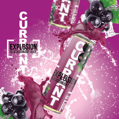 Current Explosion - Black Current Juice 120ml